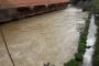 طقس عاصف في منطقة حاصبيا وفيضان مياه نهر الحاصباني