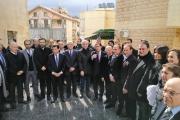 الحريري رعى افتتاح مركز طبي لبلدية بيروت في بشامون