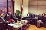 وزير البيئة إطلع من وفد كتائبي على الخطة المتعلقة بالنفايات