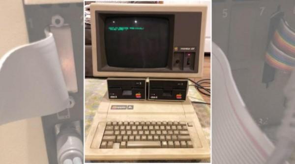 بالصور... العثور على كومبيوتر «آبل» قيد التشغيل منذ 30 عاماً