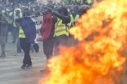محتجو 'السترات الصفراء' يتظاهرون للأسبوع الـ 16