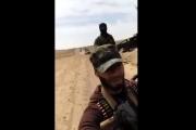 بالفيديو ... انفجار يستهدف رتل لقوات النظام السوري في بادية ديرالزور
