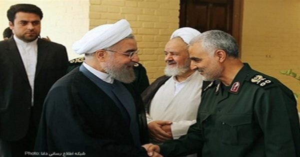 بعد عزل قاسم سليماني: روحاني يدشن العلاقات الرسمية مع بغداد