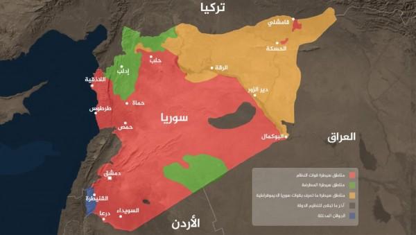 سوريا.. الخارطة العسكرية للمعارضة في الذكرى الثامنة للثورة