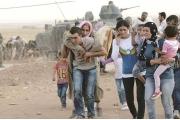 طلعت المشكلة بخيم النازحين السوريين