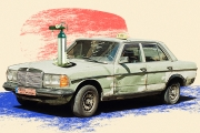 'بلبنان إذا وقّفت شغل بتموت'...سائق تاكسي سبعيني يُعلّق بجانبه أنبوبة أوكسجين