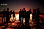 استئناف فعاليات 'الإرباك الليلي' على حدود غزة