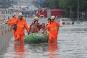تراجع خسائر الاقتصاد الصيني جراء كوارث الطبيعة 34 في المائة