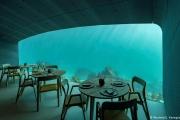بالصور ... أول مطعم أوروبي تحت الماء يفتح أبوابه في النرويج