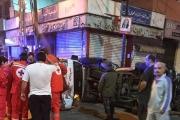 بالصور ... قتيل و5 جرحى في حادث سير مروّع في صيدا فجراً