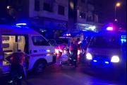 إصابة 9 أشخاص بحالات اختناق بحريق مستودع في طرابلس