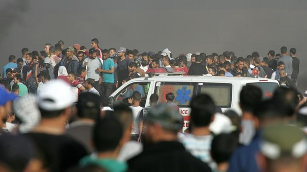 إصابة 3 فلسطينيين بجراح في قصف إسرائيلي وسط قطاع غزة