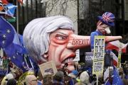 تظاهرة ضخمة في لندن تطالب باستفتاء ثانٍ على 'بريكزيت'