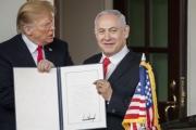 فايننشال تايمز: اعتراف ترامب بـ'سيادة' إسرائيل على الجولان 'سابقة خطيرة'