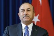 وزير خارجية تركيا يلتقي بومبيو وبولتون خلال زيارته الولايات المتحدة