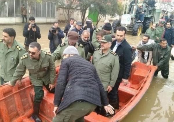 صور الفيضانات المروعة في إيران