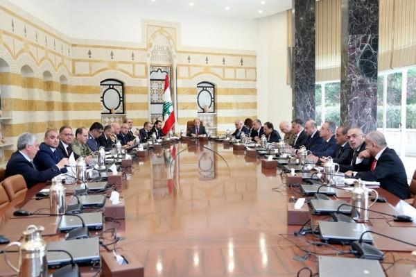 المجلس الاعلى للدفاع درس المواضيع الامنية والتهريب عبر الحدود
