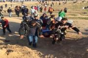 مسيرات العودة بأسبوعها الـ55: تضامن مع الأسرى الفلسطينيين وتلويح بتفعيل 'الأدوات الخشنة'