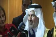 مستشار الملك سلمان من المطار: سيتم تدشين مشاريع تخدم اللاجئين