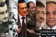 تسلسل زمني للاستفتاءات الدستورية بمصر في 63 عاما (إنفوغراف)