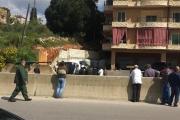 بالصور ... قُتلت الأم وجُرح الابن في حادث سير مروّع في كفررمان