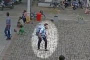 بالفيديو ... دخول أحد منفذي هجمات سريلانكا إلى كنيسة