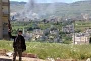 انفجار سيارة في دمشق ... وارتفاع حصيلة انفجار جسر الشغور الى 17 قتيلا