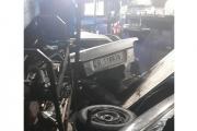 بالصور ... سيارة تقتحم محل 'روي القصيفي' في مستيتا – جبيل وتودي بحياته