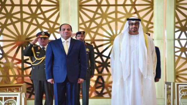 ولي عهد أبو ظبي للقاهرة لبحث التوتر بالخليج.. وحديث عن طلب دعم عسكري مصري