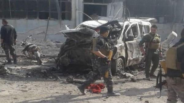 بالصور ... أكثر من 15 قتيلاً وجريحاً لقسد بانفجار ضخم وسط منبج شرقي حلب
