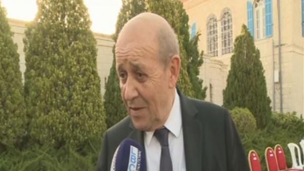 وزير الخارجية الفرنسية: فرنسا موجودة دائمًا إلى جانب لبنان