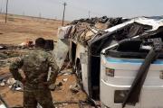 بالصور ... انفجار يوقع عشرات القتلى والجرحى من ميليشيا 'الحشد الشعبي' في العراق