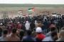 إصابات بين الفلسطينيين باعتداء العدو الاسرائيلي على مسيرات العودة شرق غزة
