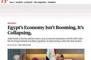 يحيى حامد يكتب في 'فورين بوليسي': الاقتصاد المصري ينهار