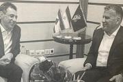 اللواء عباس التقى زكا ويعودان غدا الى لبنان
