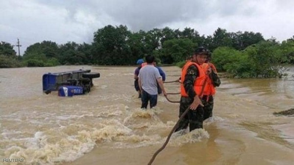 قتلى وآلاف المشردين بفيضانات الصين