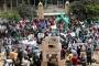 وقفة احتجاجية ضد مؤتمر البحرين.. ودعوات للمقاومة المسلحة