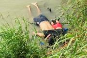 صدمة بعد غرق مهاجر سلفادوري وابنته لدى محاولتهما دخول أميركا من المكسيك