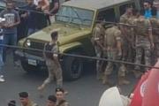 مناصرون للاشتراكي يقطعون الطريق في كفرمتى لمنع مرور موكب باسيل