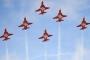 طائرات حربية سويسرية تضل طريقها خلال عرض جوي