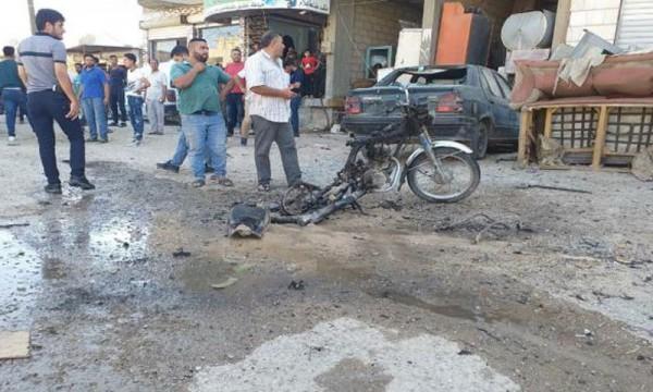 ثلاثة تفجيرات متعاقبة بدراجات نارية وسط الحسكة
