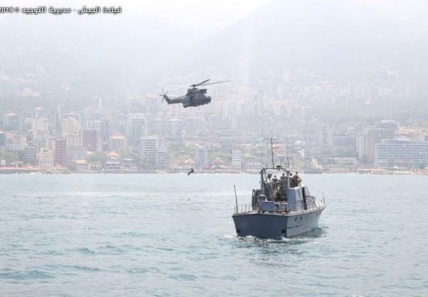 الجيش: تمرين مشترك مع فريق تدريب أميركي لتطوير قدرات الوحدات على العمل في عرض البحر