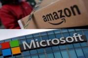 محكمة تسمح لأمازون ومايكروسوفت بالتنافس على عقد بـ10 مليارات دولار