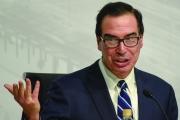 وزير الخزانة الأميركي: أموال الحكومة مهددة بالنفاد في أيلول