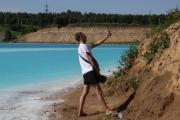 «البحيرة السامة» تجذب السياح إلى «مالديف سيبيريا»