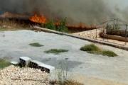 إخماد حرائق في 6 بلدات جنوبية (صورة)