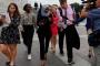 فوضى في شوارع واشنطن أثناء مؤتمر صحافي للنائبة إلهان عمر
