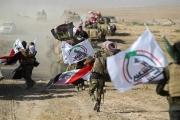 طائرة مسيرة مجهولة تقصف معسكرا للحشد وسط العراق