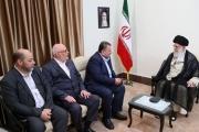 وفد قيادي من حماس يلتقي خامنئي في طهران