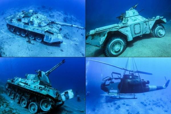 افتتاح أول متحف عسكري تحت الماء في الأردن
